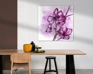 Blumenmotiv - Sakura Kirschblüte von Patricia Piotrak