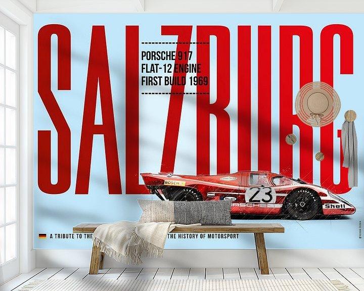 Beispiel fototapete: Porsche 917 Salzburg von Theodor Decker