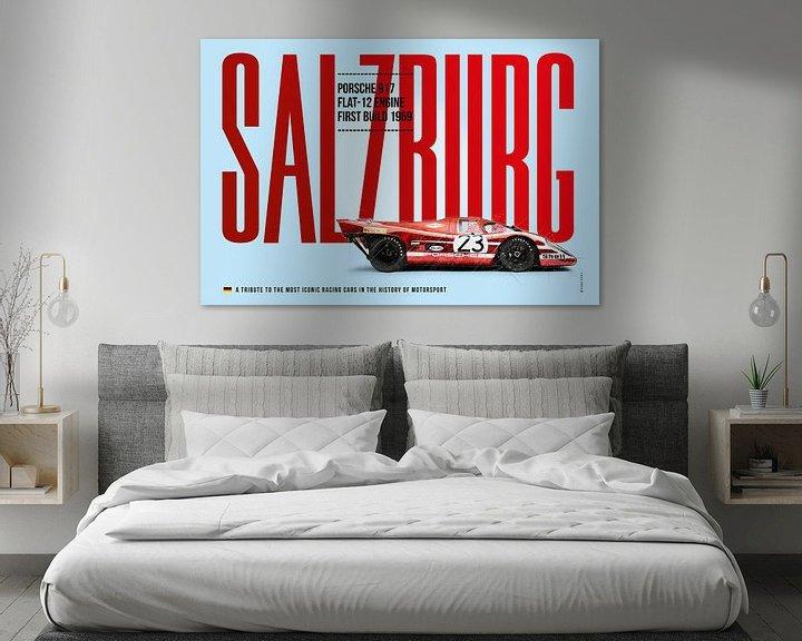 Beispiel: Porsche 917 Salzburg von Theodor Decker
