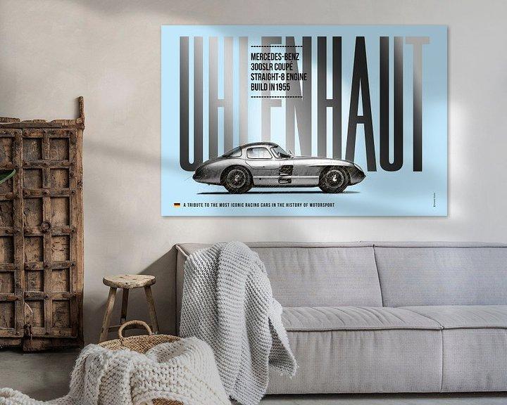 Beispiel: Mercedes Uhlenhaut Coupe, 300SLR von Theodor Decker