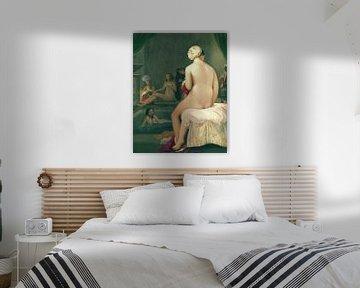 Nackter Badender im Harem, Jean Auguste Dominique Ingres - 1828 von Atelier Liesjes