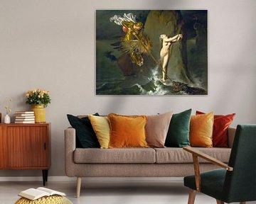 Jean-Auguste-Dominique Ingres, Roger Frees Angelica von Atelier Liesjes