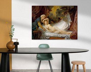 Jean-Baptiste Greuze, Ägina besucht von Jupiter - ca. 1767-69