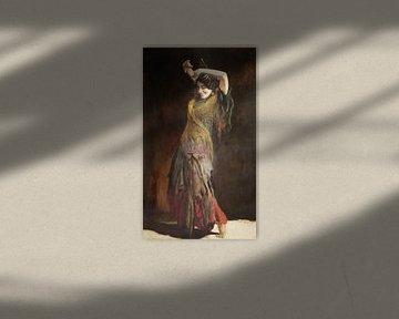 Flamencotänzer, Leopold Schmutzler von Atelier Liesjes