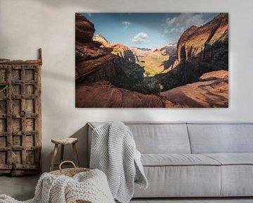 Zion National Park, Utah van Rob Visser