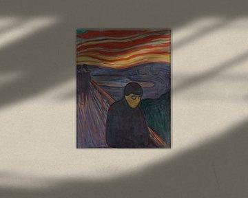 Le désespoir, Edvard Munch