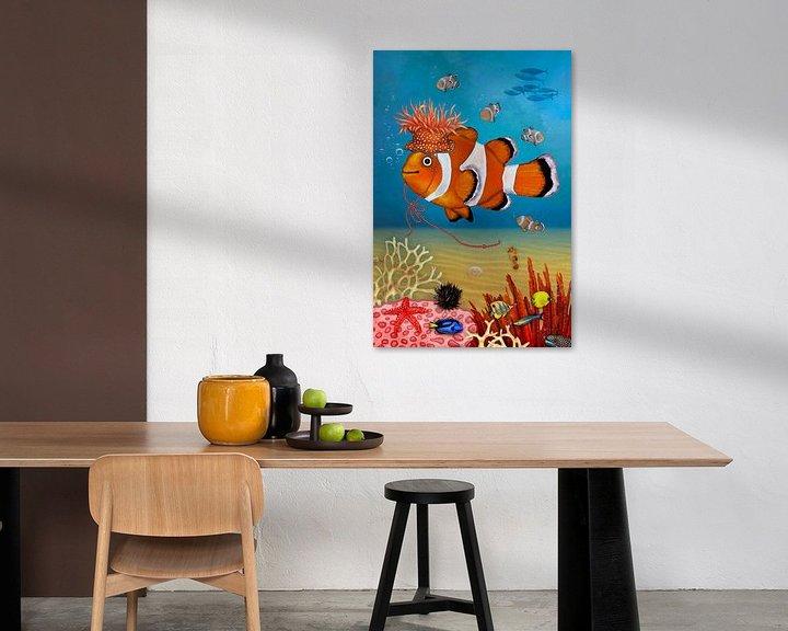 Beispiel: Mein lustiger Clownfisch Rio von Marion Krätschmer
