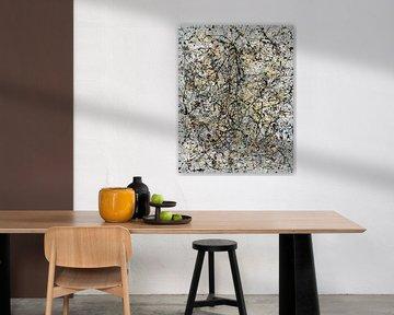Lyrische abstractie III van Jerome Coppo
