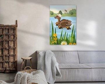 Meine lustige Ente Elli von Marion Krätschmer