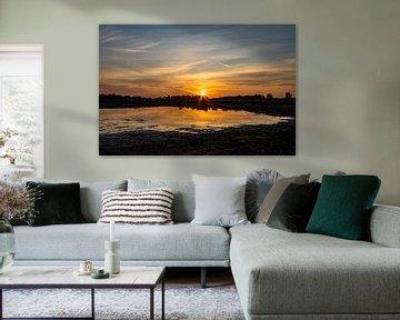 Sonnenaufgang von Gerard De Mooij