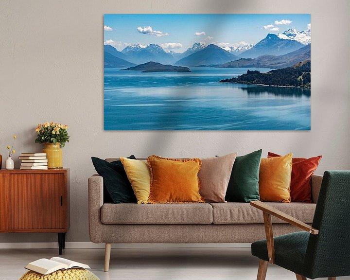 Beispiel: Wakatipu-See von Peter Moerman