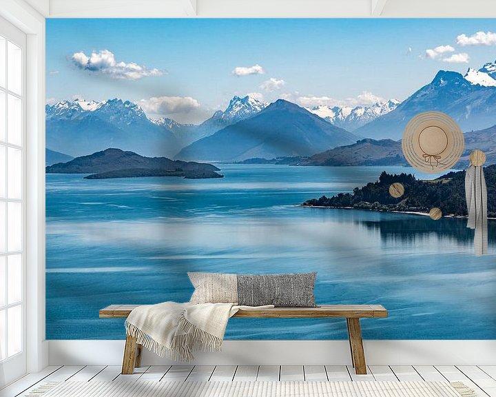 Beispiel fototapete: Wakatipu-See von Peter Moerman