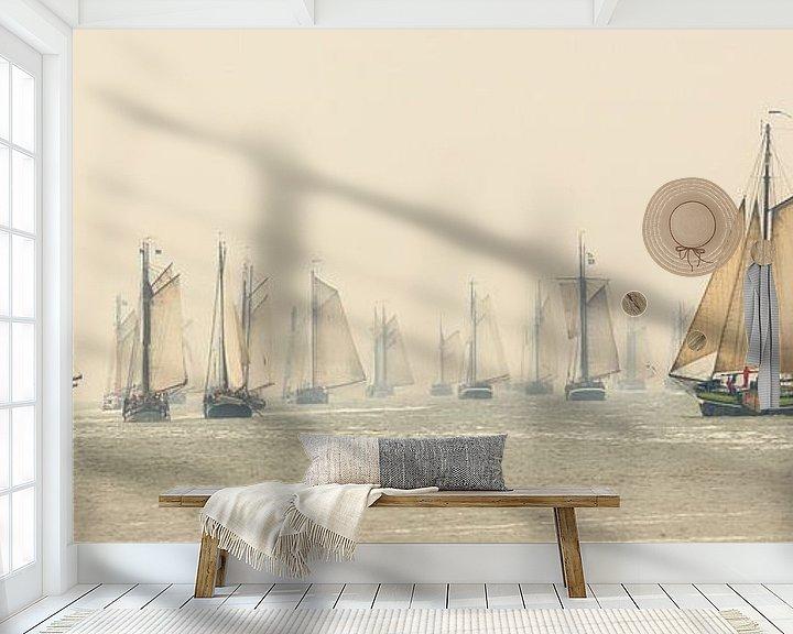 Beispiel fototapete: Gespenster im Nebel von Frans Lemmens