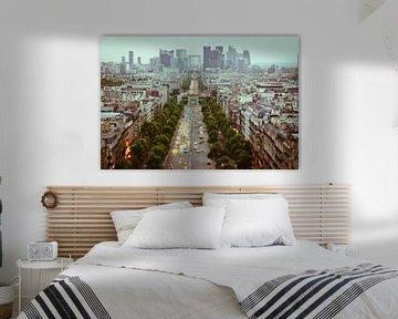 Parijs van bovenaf van BTF Fotografie