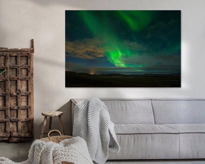 Sfeerimpressie: Noorderlicht IJsland van René Schotanus