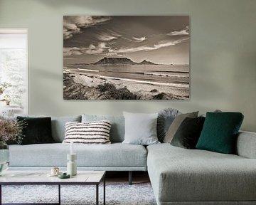 Tafelberg vom Bloubergstrand bei Kapstadt, Südafrika von Frans Lemmens