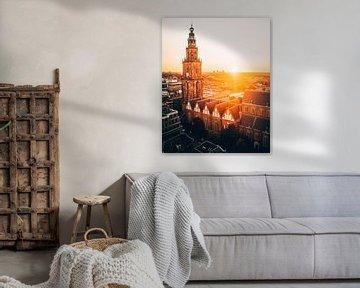 Martinitoren, Groningen, Nederland van Marion Stoffels