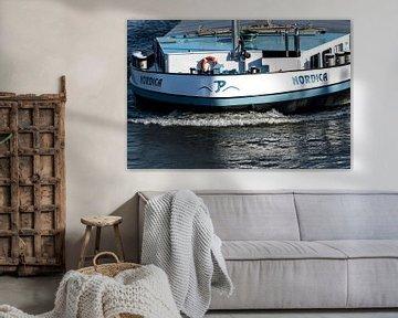 Scheepvaart in Nederland Boeg van het schip van Devlin Jacobs