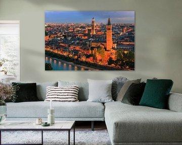 Blick über Verona, Italien