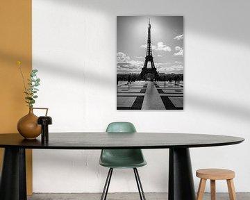 Eiffelturm von Lysanne Artcrafx