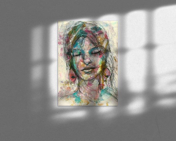 Sfeerimpressie: Rosa van Flow Painting
