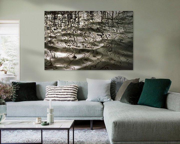 Beispiel: Lijnenspel in het water; om in weg te dromen von Rob IJsselstein