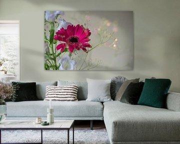 Blumenstillleben von Lisette van Gameren