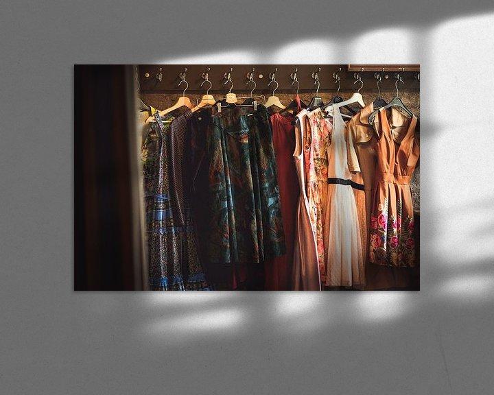 Sfeerimpressie: Vintage kledij van Peter Deschepper