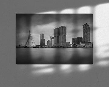 Die Skyline von Rotterdam von Mike Peek