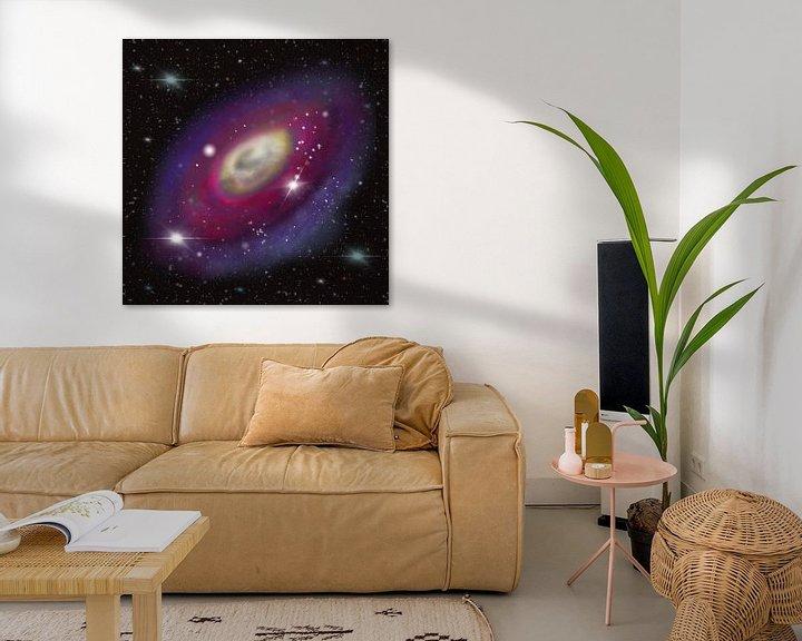 Beispiel: Galaxie im All von Patricia Piotrak