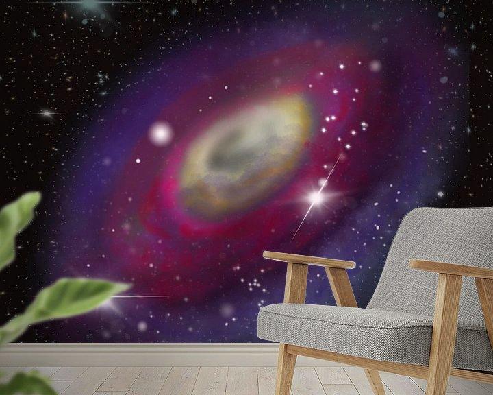 Beispiel fototapete: Galaxie im All von Patricia Piotrak
