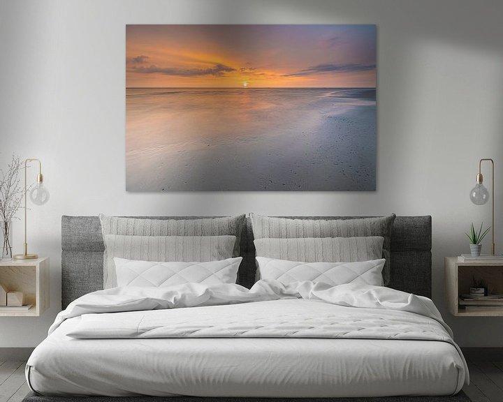 Sfeerimpressie: Zonsondergang strand Ameland van Teuni's Dreams of Reality
