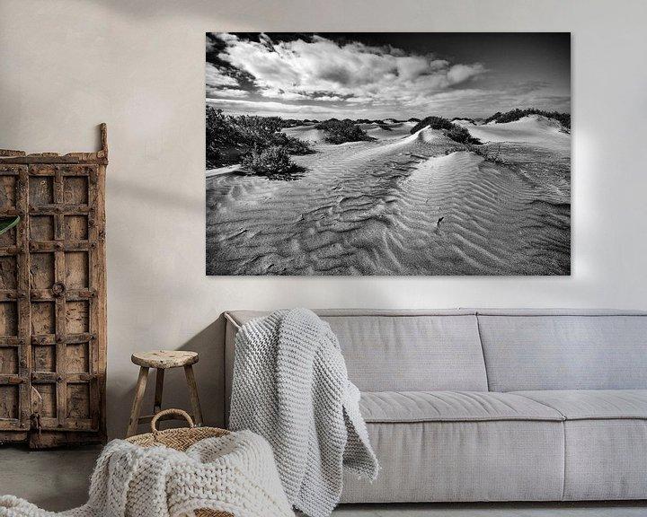 Sfeerimpressie: Duinen op het strand van Lanzarote van Jacqueline Lemmens