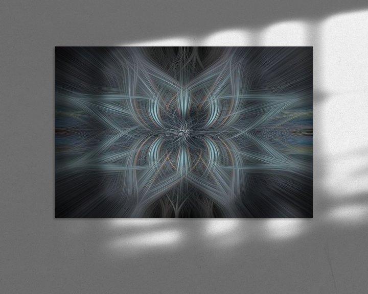 Sfeerimpressie: Digital abstract 27 van Leo Luijten