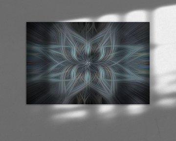 Digital abstract 27 van Leo Luijten