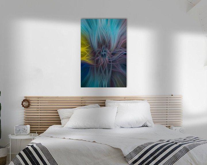 Sfeerimpressie: Digital abstract 28 van Leo Luijten