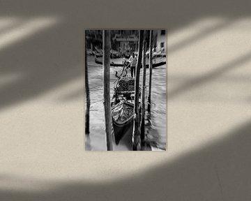Venetië Gondels van Tom River Art