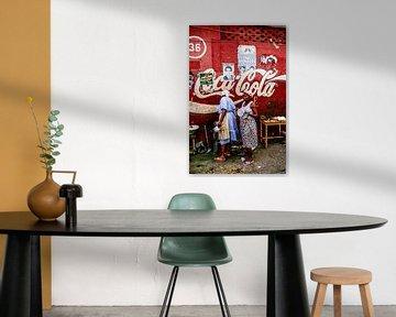 Coca-Cola Woman - Analoge Fotografie!