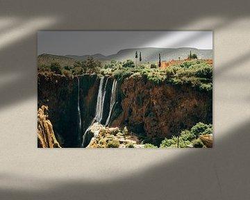 Waterval in Marokko van Patrycja Polechonska