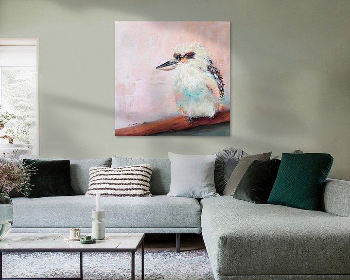 Beispiel: Kookaburra von Carmen de Bruijn