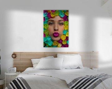 Küsse und Farben. von Claudio Duarte