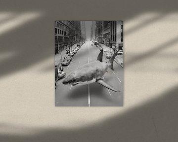 Hallucinatie in zwart-wit van Jerome Coppo