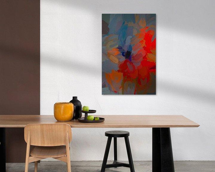 Sfeerimpressie: Abstracte rozen van Leo Luijten