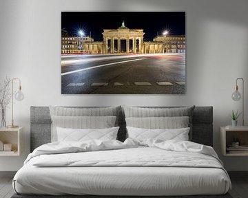 Brandenburger Tor 's nachts van Frank Herrmann