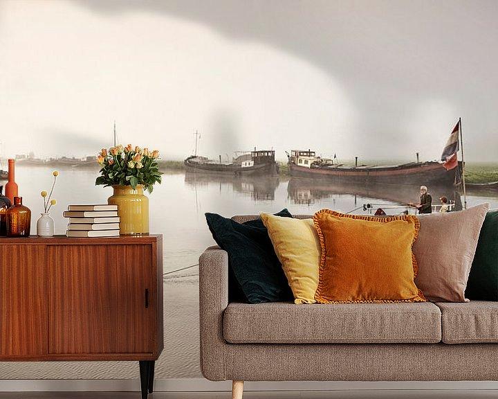 Impression: Ferry à main à Haerst sur Frans Lemmens