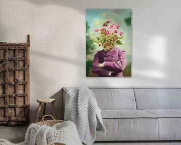 The Gardener and the Butterflies von Marja van den Hurk