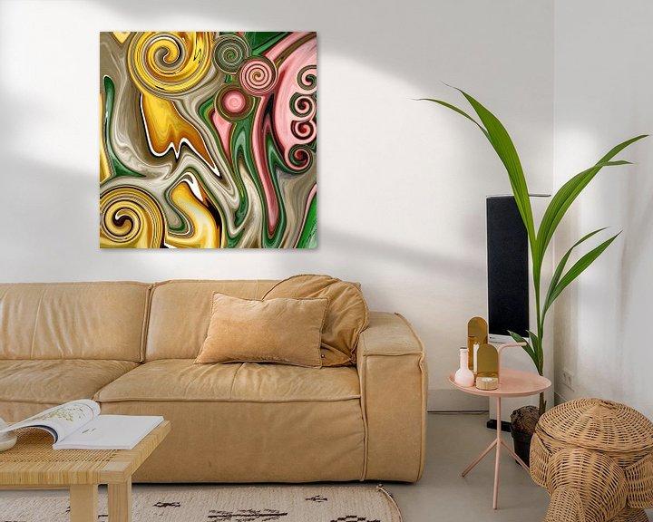 Beispiel: Abstrakte Kunst - Fluid Painting Deformation von Patricia Piotrak