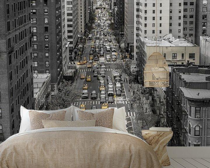 Beispiel fototapete: Typisches New Yorker Straßenbild von Joost Potma