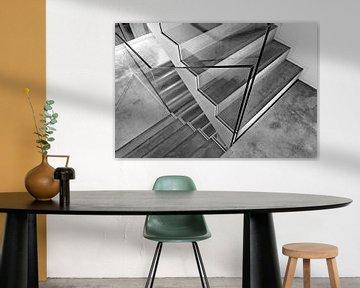 Treppe aus Beton von Studio Kunsthart