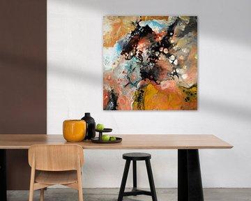 Abstrakte Komposition 951 von Angel Estevez